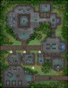 VTT Map Set - #273 Jungle Planet Outpost
