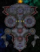 VTT Map Set - #274 Starship Deckplan: Prison Transport Ship