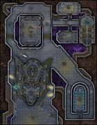 VTT Map Set - #284 Light Starship Refueling & Repair Stop