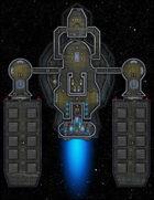 VTT Map Set - #286 Starship Deckplan: Heavy Cargo Barge