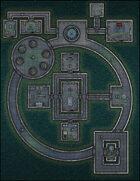 VTT Map Set - #287 Offworld Colony Family Bunker