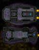 VTT Map Set - #290 Starship Deckplan: Heavily Armored Transport Ships