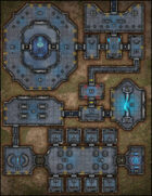 VTT Map Set - #291 Advanced Research Facility