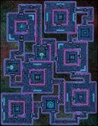 VTT Map Set - #294 VR Construct: Library