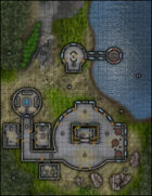 VTT Map Set - #295 Lakeside Planetary Nature Research Center & Submersible Dock