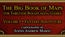 Big Book of Maps - Fantasy Adventure