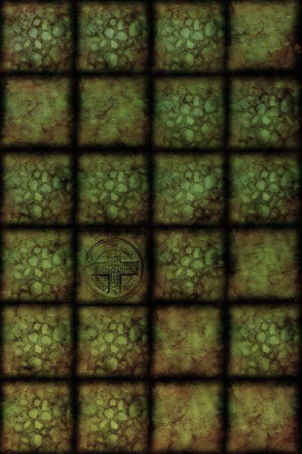Dungeon floor map 2x2 3sixes for Floor 2 dungeon map
