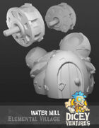 Elemental Village - Water Mill