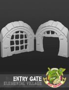 Elemental Village - Entry Gate