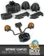 6mm Sci-Fi Terrain: Refinery Complex