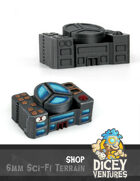 6mm Sci-Fi Terrain: Shop
