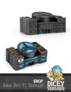 6mm Sci-Fi Terrain: Shop