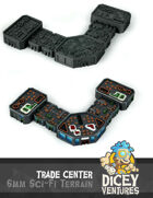 6mm Sci-Fi Terrain: Trade Center