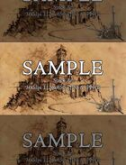 Castle Sketchbook style