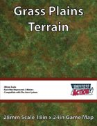 Grass Plains Terrain Map (Hexes = 2 Meters)