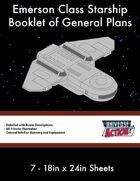 Emerson Class Starship General Plans