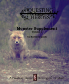 Questing Heroes Monster Supplement Vol. 1