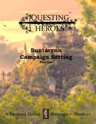 Questing Heroes Suntarynn Campaign Setting Preview