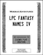 LPC Fantasy Names IV