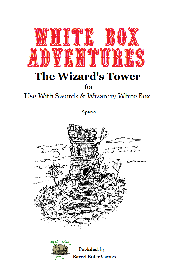 Swords and Wizardry White Book II Of IV Spells