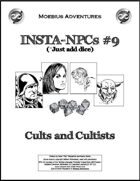 Insta-NPCs #9: Cults and Cultists