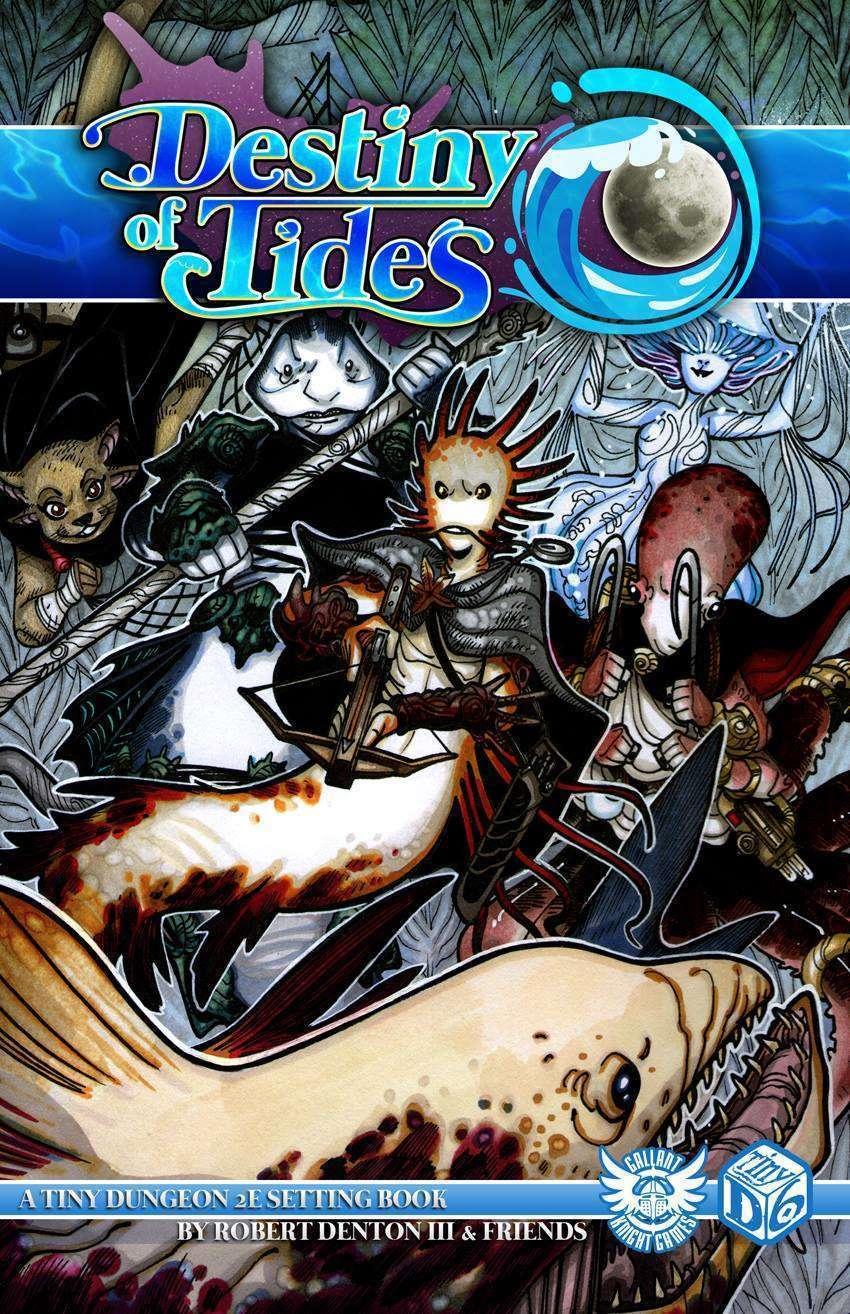 Destiny of Tides: Quickstart Characters - Gallant Knight
