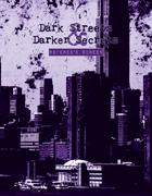 Dark Streets & Darker Secrets GM Screen