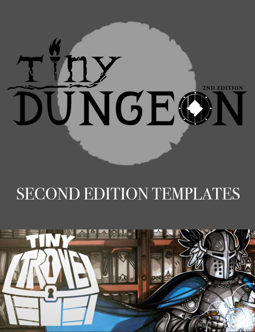 Tiny Trove 2nd Edition Pack - Gallant Knight Games   Tiny