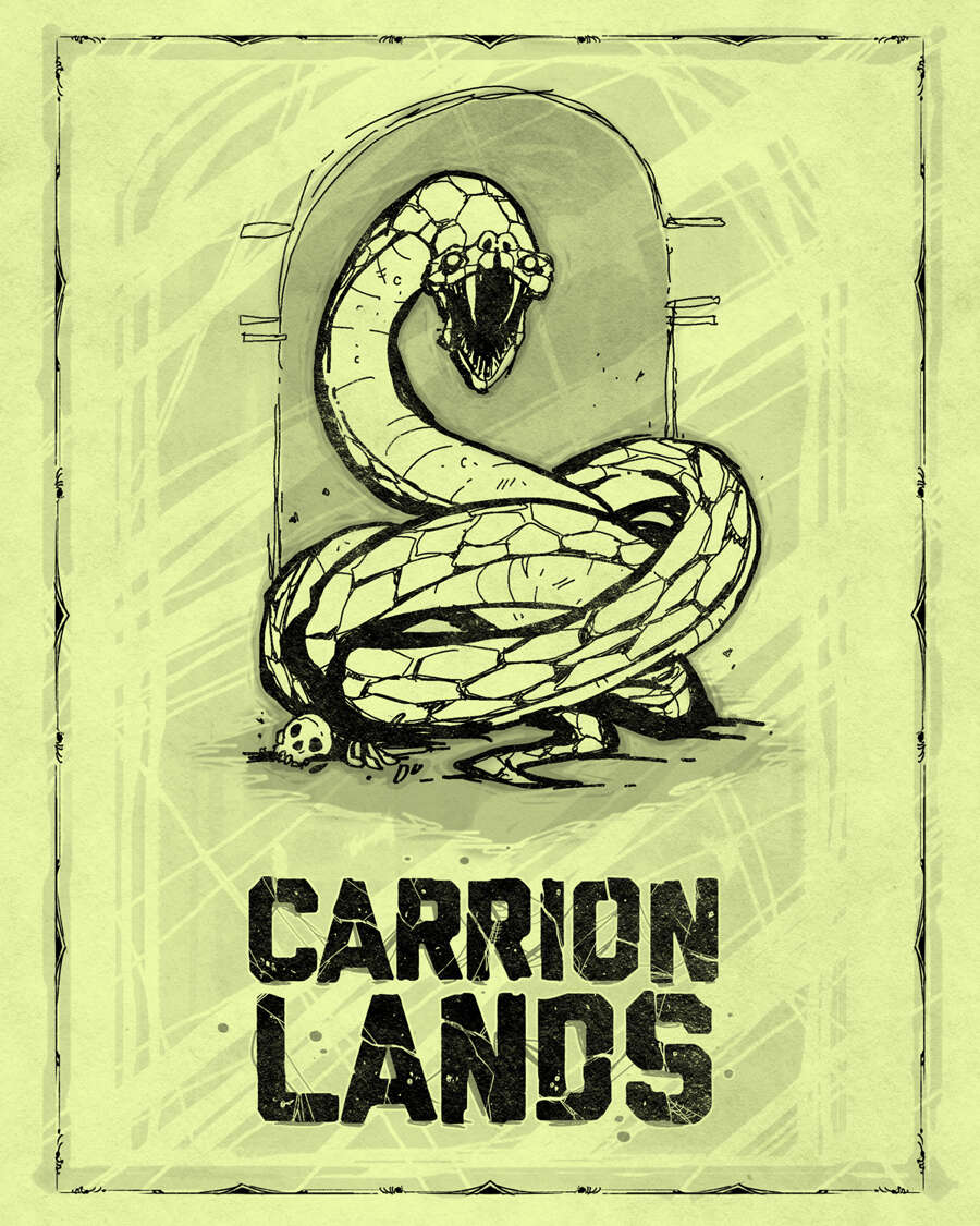 Carrion Lands Ashcan Edition Gallant Knight Games