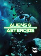 Aliens & Asteroids Cards