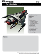 Tiny Frontiers: Revised - Pregenerated Characters