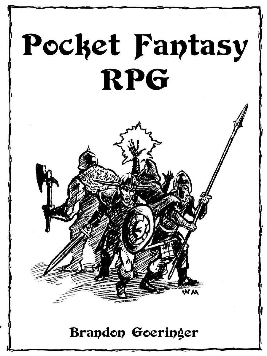 Pocket Fantasy Rpg Brandon Goeringer Drivethrurpg Com
