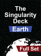 The Singularity Deck - Earth Set (Standard Suits)