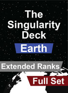The Singularity Deck - Earth Full Set (Extended Ranks)
