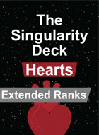 The Singularity Deck - Hearts Extended Ranks