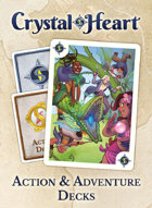Crystal Heart Action and Adventure Decks