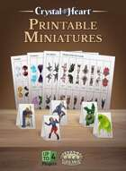 Printable Miniatures - A Crystal Heart Expansion