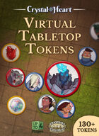 Crystal Heart Tokens for Virtual Tabletops