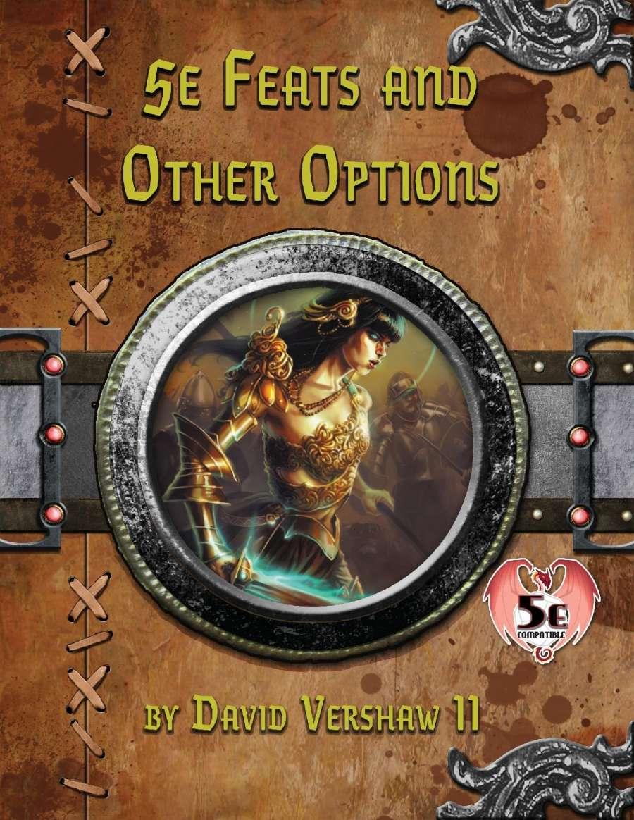 5e Feats and Other Options - David Vershaw II   DriveThruRPG com