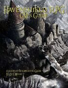 Havenshield RPG GM's Guide