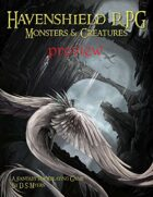 Havenshield RPG Monsters & Creatures Free Preview