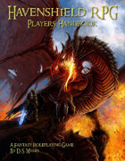 Havenshield RPG Player's Handbook- A4 Printable Edition