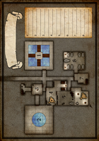 Single Page Dungeon Map #1