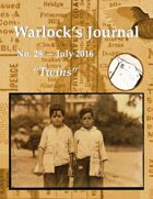 Warlock's Journal (Issue 28 - Jul 2016)