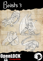 Axolote Beasts - Set 3