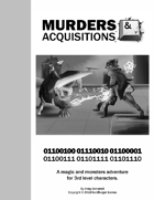 Murders & Acquisitions Adventure - Binary