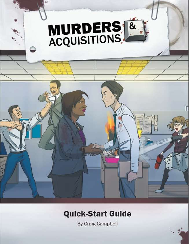Murders & Acquisitions Quick-Start Guide