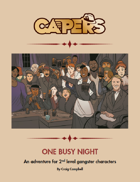 CAPERS Adventure - One Busy Night
