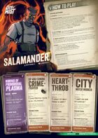City of Mist Starter Set Playbooks