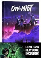 City of Mist Core Book (with Lily Chow Playbook!)